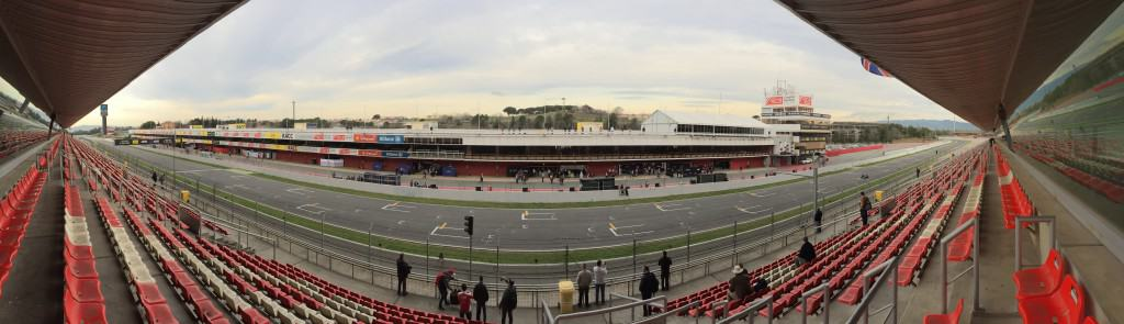 Panorama Start/Ziel Circuit de Barcelona